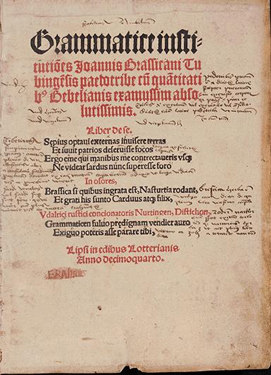 Bibliotheca Amploniana, Libris Amploniani